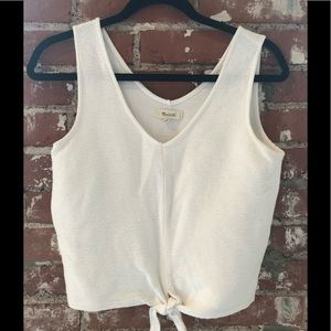 Knotted Madewell Crop Top